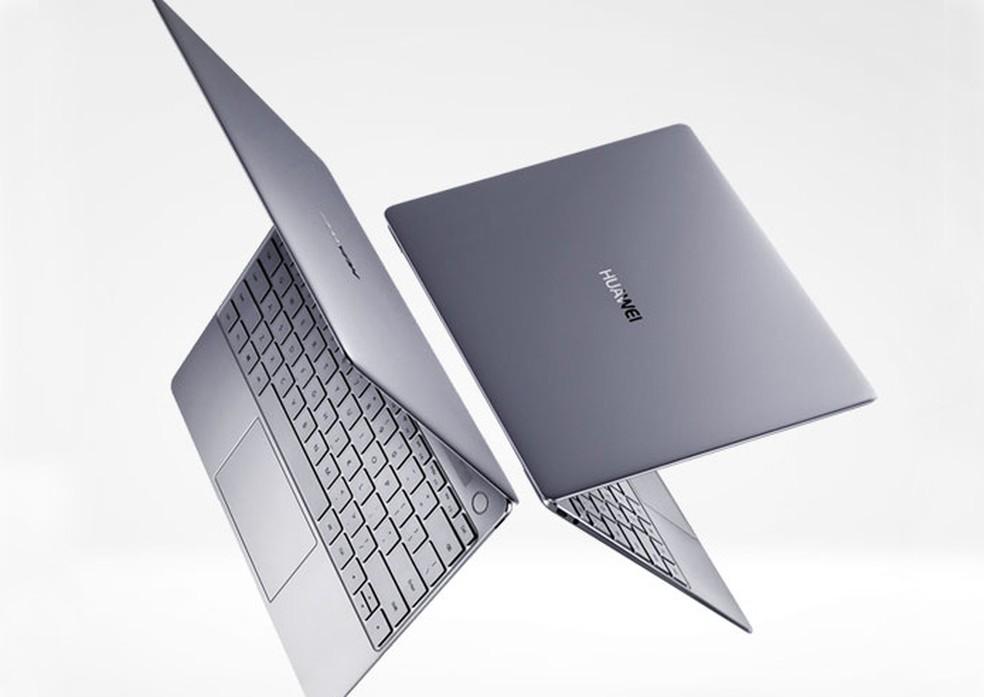MateBook X é o novo notebook superfino da Huawei (Foto: Divulgação/Huawei)