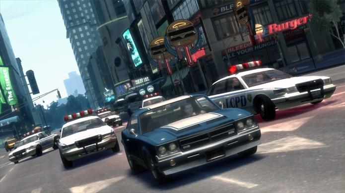 GTA 4 trouxe uma cidade mais viva porém perdeu em tamanho bruto em relação a GTA San Andreas (Foto: Reprodução/GTA4.net)