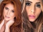 Amanda Gontijo faz preenchimento labial: veja o antes e o depois