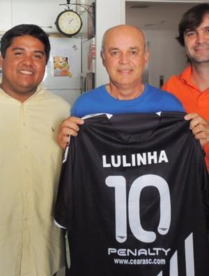 Lulinha, ex-Ceará (Foto: Divulgação/Cearasc.com)