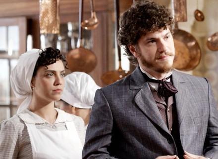 Após rompimento, Afonso é rude com Anita