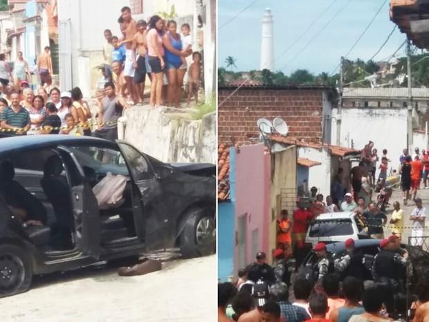 Confronto aconteceu no bairro de Mãe Luíza, Zona Leste de Natal (Foto: Divulgação/PM)