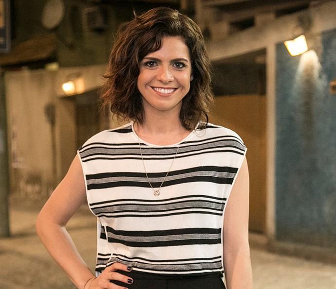 Renata Gaspar como Josy em Chapa Quente (Foto: Globo/Paulo Belote)