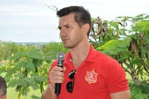 Gauchinho, presidente do União Rondonópolis (Foto: Kelson Abrão)