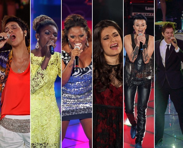 Integrantes do The Voice Brasil 1 unem talentos no projeto Vozes do Brasil  (Foto: The Voice Brasil/TV Globo)