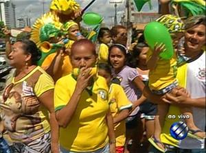 Travessa Barão do Triunfo ganhou a preferência dos internautas (Foto: Reprodução/TV Liberal)