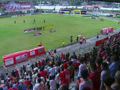 Rio Branco-PR Paraná Clube Gigante do Itiberê (Foto: Reprodução/RPC)