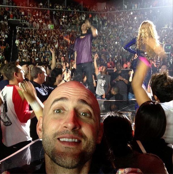 Paulo Gustavo no show da Beyoncé (Foto: Instagram/Reprodução)