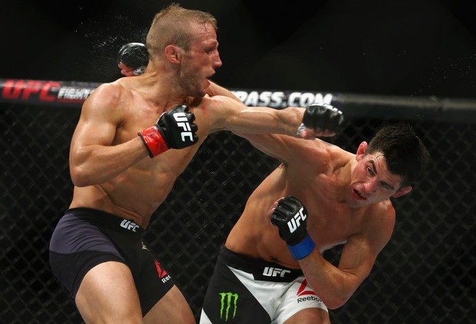 Dominick Cruz e TJ Dillashaw, UFC Boston (Foto: Getty Images )