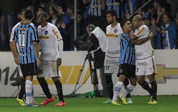 Grêmio x Botafogo (Foto: Itamar Aguiar / Ag. Estado)