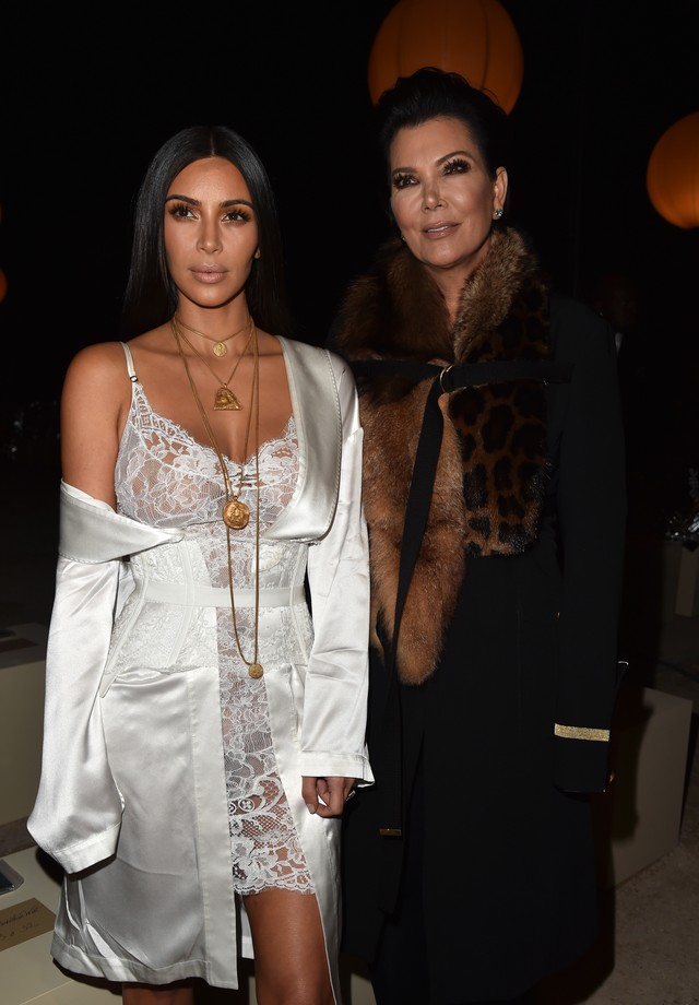 Kim Kardashian e Kris Jenner (Foto: Getty Images)