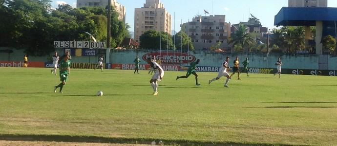 Resende e Boavista fizeram jogo de seis gols (Foto: Diego Gavazzi/TV Rio Sul)