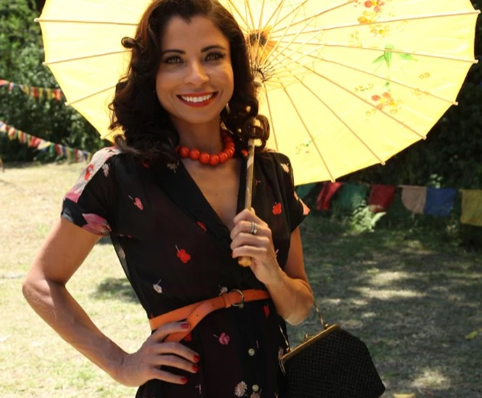 Anna Lima em cena como a Zilda de Joia Rara (Foto: Carol Caminha/Gshow)