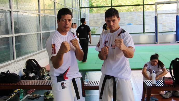 irmãos machida (Foto: Gabriel Mansur)