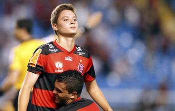 Adryan, Flamengo x Grêmio (Foto: Ivo Gonzalez /Globo)