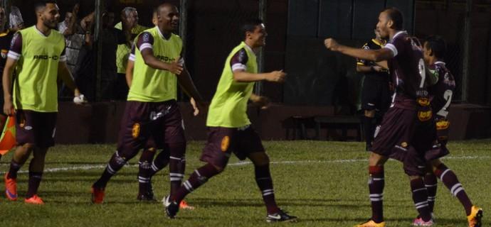 Felipe Silva atacante Sertãozinho (Foto: Vinicius Alves / Sertãozinho FC)
