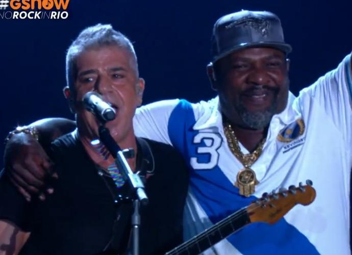 Lulu Santos e Mr Catra  (Foto: Gshow)