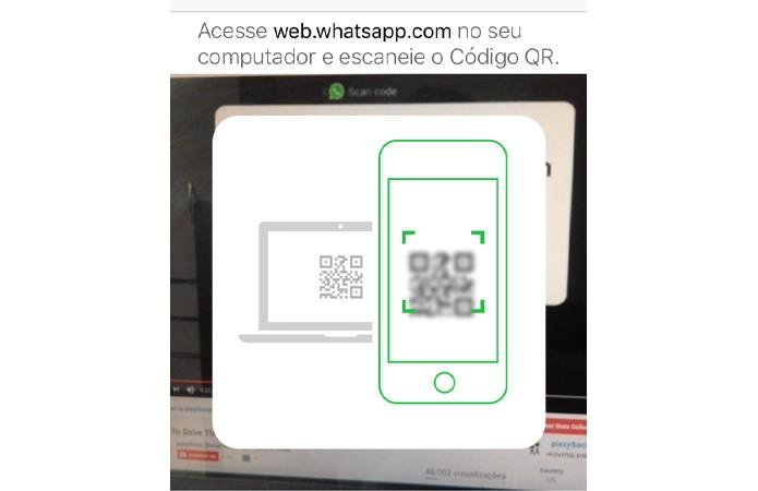 Tela do app do WhatsApp (Foto: Reprodução/André Sugai)