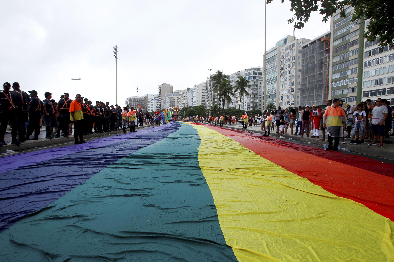A Parada LGBT, em Copacabana