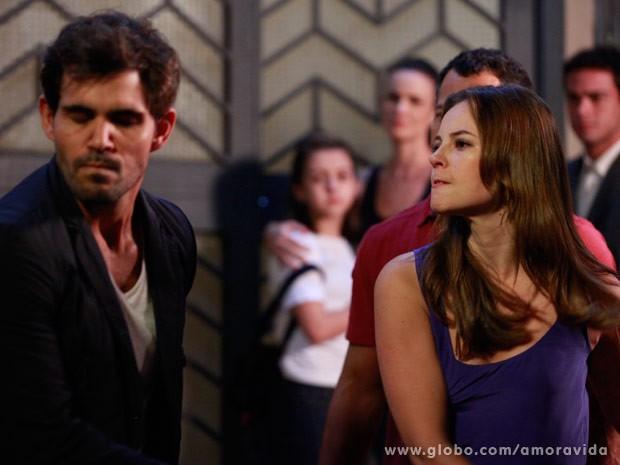 Após discussão, Paloma dá tapa na cara de Ninho (Foto: Ellen Soares/ TV Globo)