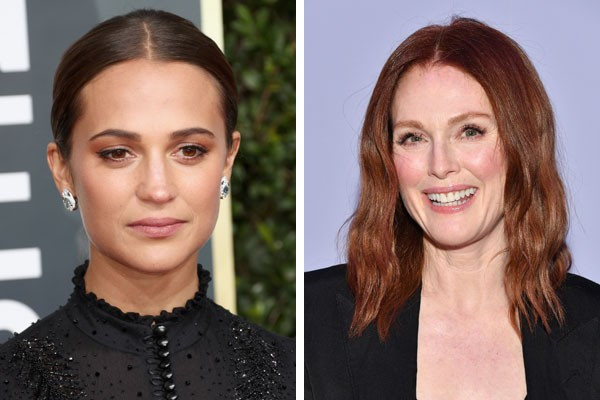 Alicia Vikander e Julianne Moore (Foto: Getty Images)