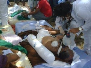 Pacientes foram transferidos para o Hospital Geral e unidades das UPAs (Foto: Sidney Pereira)