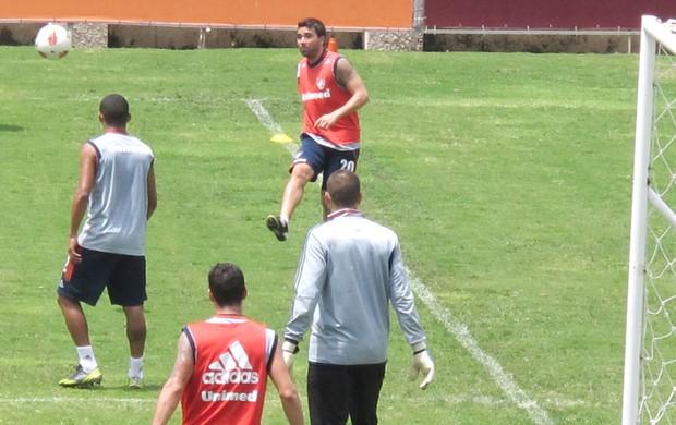 Deco no treino do Fluminense (Foto: Rafael Cavalieri / Globoesporte.com)