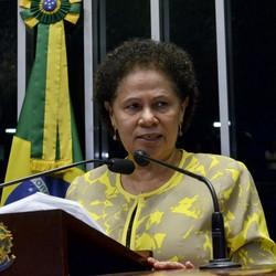 Em discurso, à tribuna, senadora Regina Sousa (PT-PI)