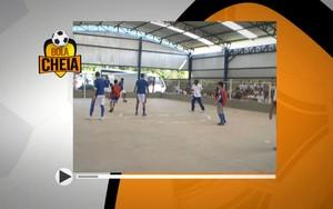 Bola Cheia tem edição especial com ala esquerda do time da Apae (fantastico)