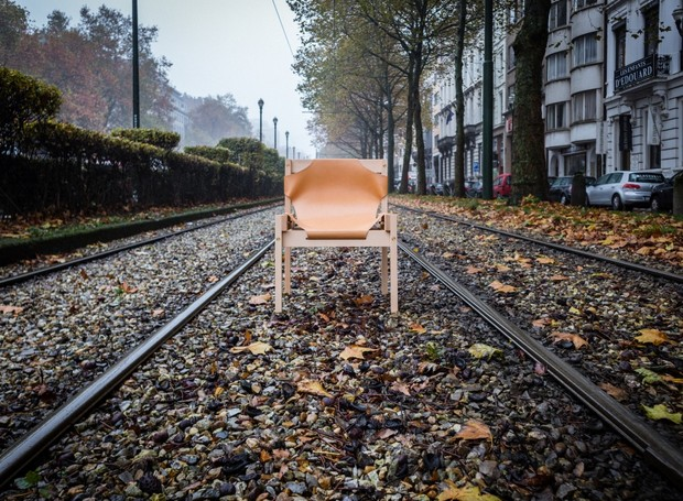 A cadeira Boléia, criação do designer Rafael Chvaicer, é um dos destaques da ars fabricandi  (Foto: Divulgação)