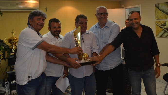 campeonato paraibano, reunião, fpf (Foto: Edgley Lemos / GloboEsporte.com/pb)