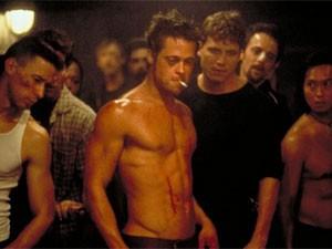 Brad Pitt em 'Clube da luta' (Foto: Divulgação)