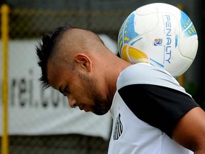 Geuvânio Santos (Foto: Ivan Storti / Divulgação Santos FC)