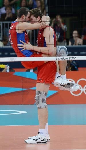 Muserskiy Rússia vôlei (Foto: AFP)