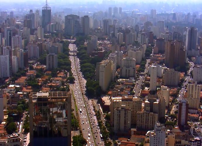 Os arranha-céus de São Paulo são marca registrada da cidade (Foto: Divulgação/TV Globo)