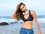Letícia Wiermann intensifica treino para diminuir percentual de gordura