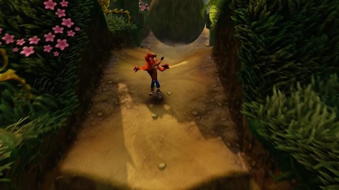Crash Bandicoot N. Sane Trilogy tem gráficos atualizados e suporte a três troféus de platina (Foto: Reprodução/Victor Teixeira)