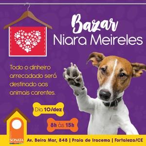 Bazar Niara Meireles (Foto: Divulgação)