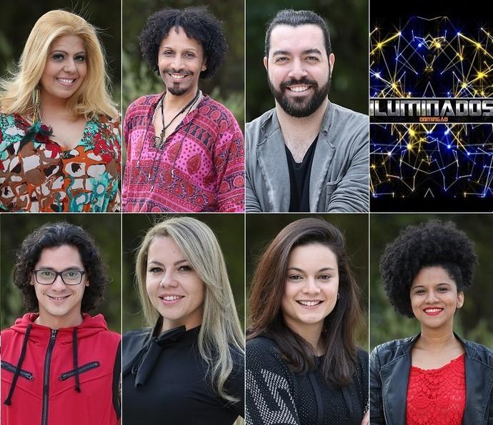 Participantes da quinta semana do 'Iluminados' (Foto: Carol Caminha/Gshow)