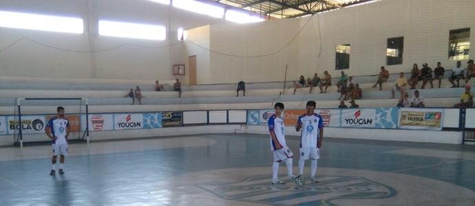 Valença venceu Paraty por W.O. na tarde deste sábado (Foto: Felipe Novaes/TV Rio Sul)