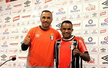De olho na Série B, Joinville apresenta goleiro Oliveira e atacante Cléo Silva