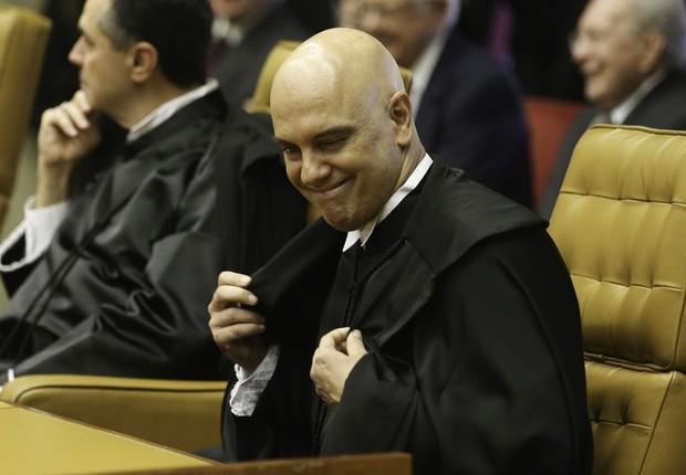 Alexandre de Moraes, agora ministro do Supremo Tribunal Federal (STF)  (Foto: Fabio Rodrigues Pozzebom/Agência Brasil)