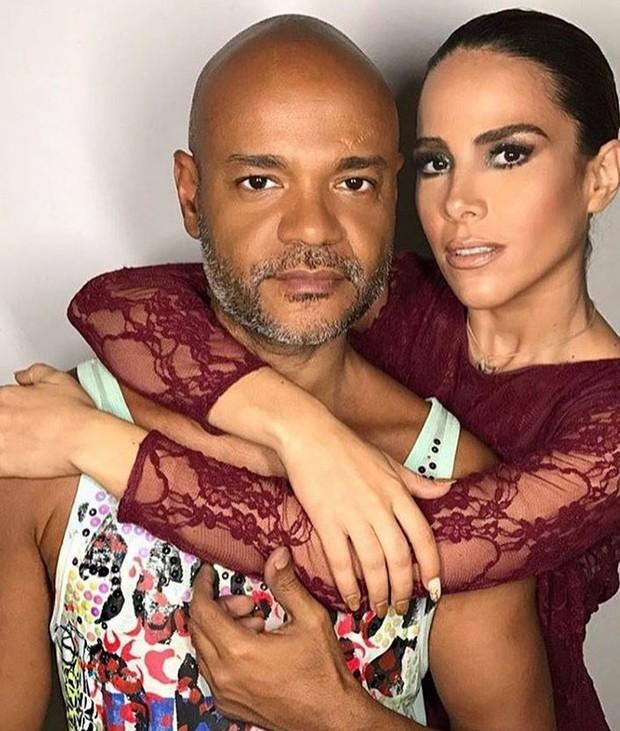 Wanessa Camargo e maquiador (Foto: Instagram / Reprodução)