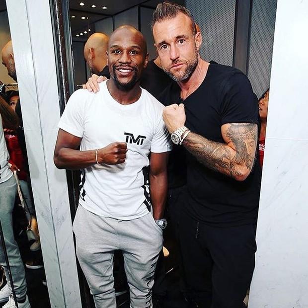 Floyd Mayweather e Philipp Plein (Foto: reprodução/instagram)
