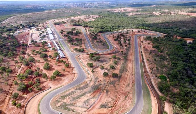 Circuito de Curvelo recebe a Stock Car pela primeira vez (Foto: Divulgação)