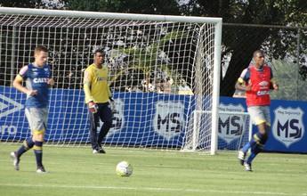 Com três dúvidas, Mano começa a montar Cruzeiro para pegar o Grêmio