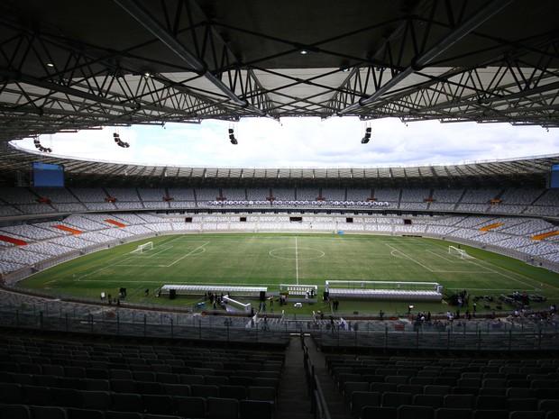 Novo Mineirão (Foto: Maurício Vieira/Globoesporte.com)