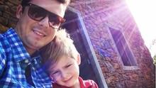 Fora da telinha, papais da RBS TV falam do carinho pelos filhos  (Arquivo pessoal)