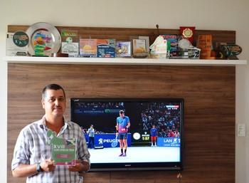 Sérgio Borsio, tenista Acre, 45 anos (Foto: Duaine Rodrigues)