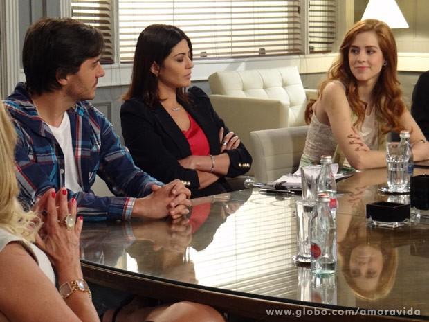 Natasha se sente vitoriosa (Foto: Amor à Vida/ TV Globo)